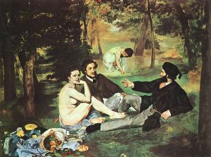 courtesy http://www.fanpop.com/clubs/fine-art/images/318922/title/dejeuner-sur-lherbe-manet-photo