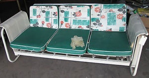 courtesy http://www.ebay.com/itm/VINTAGE-MODERN-MID-CENTURY-GLIDER-COUCH-SOFA-SWING-/190896430895
