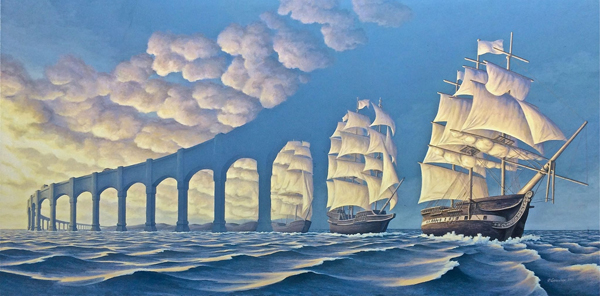 courtesy http://ego-alterego.com/magical-realism-surrealistic-paintings-rob-gonsalves/